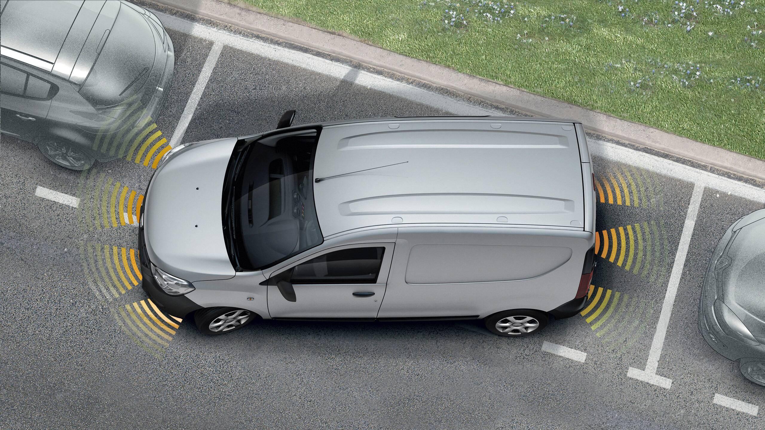 Система за подпомагане на паркирането на заден ход с камера за задно виждане