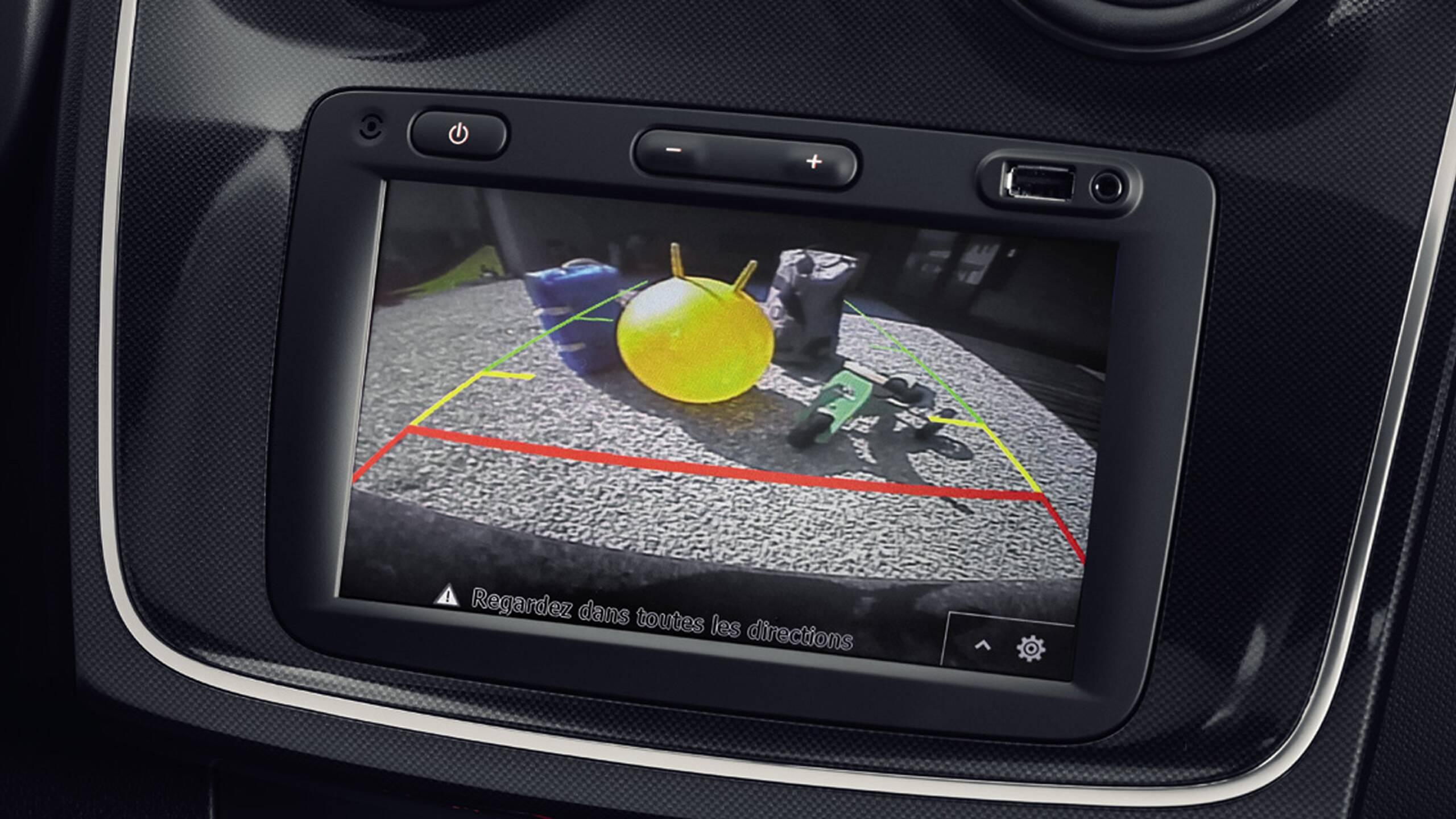 Система за помощ при паркиране на заден ход и камера за задно виждане