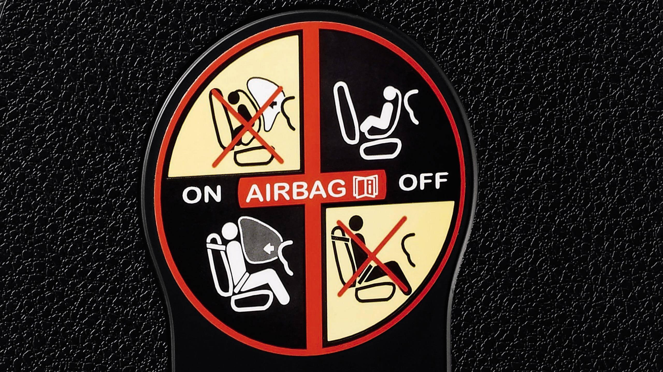 Деактивиране на предна въздушна възглавница и седалки Isofix