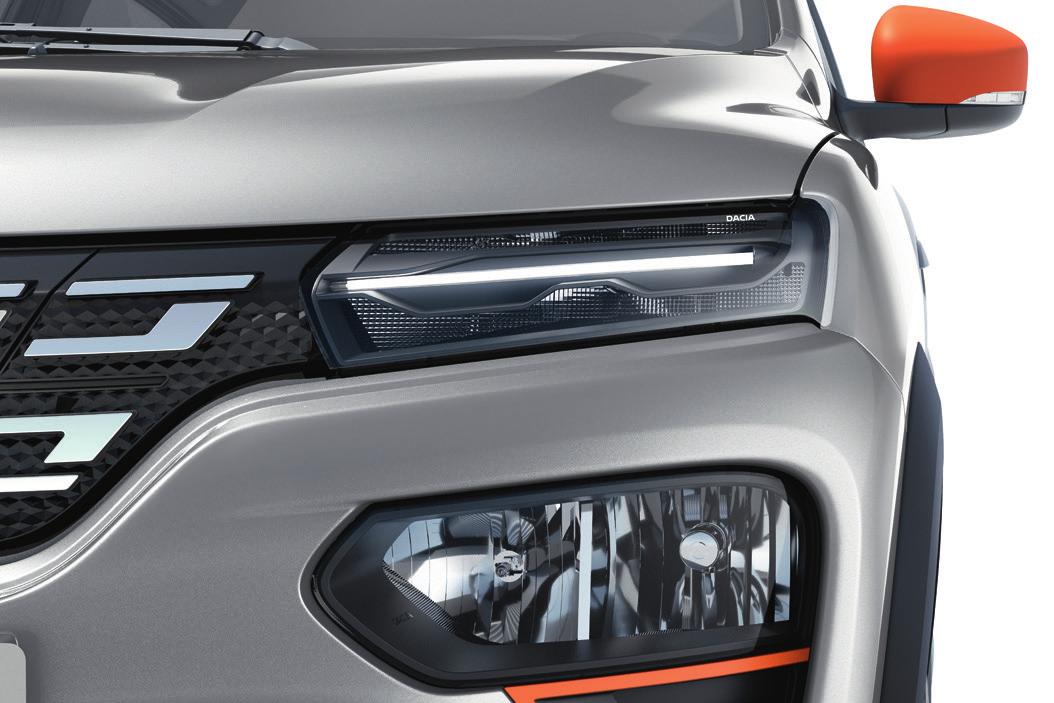 Нов Dacia светлинен подпис