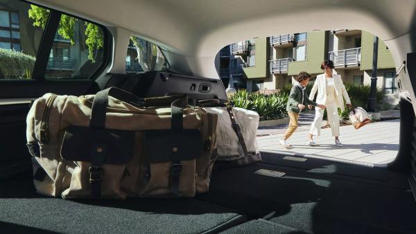 Огромно място за багаж