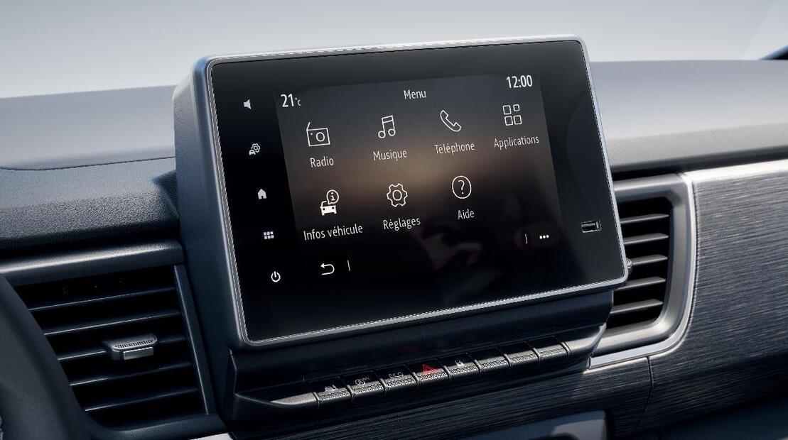 Мултимедийна система с 8-инчов екран и дигитално радио