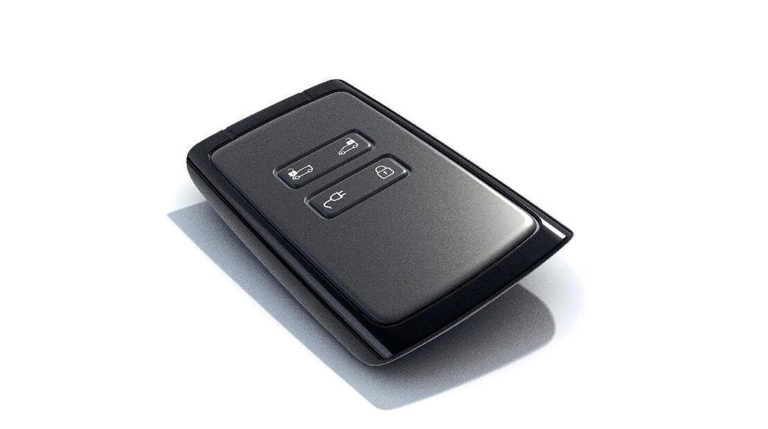 Карта за дистанционно отключване / заключване на автомобила и стартиране на двигателя