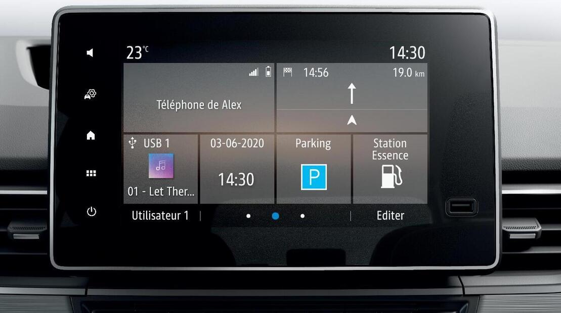 Мултимедийна система Easy Link с 8-инчов екран, Android Autotm и Apple CarPlaytm съвместимост, Bluetooth