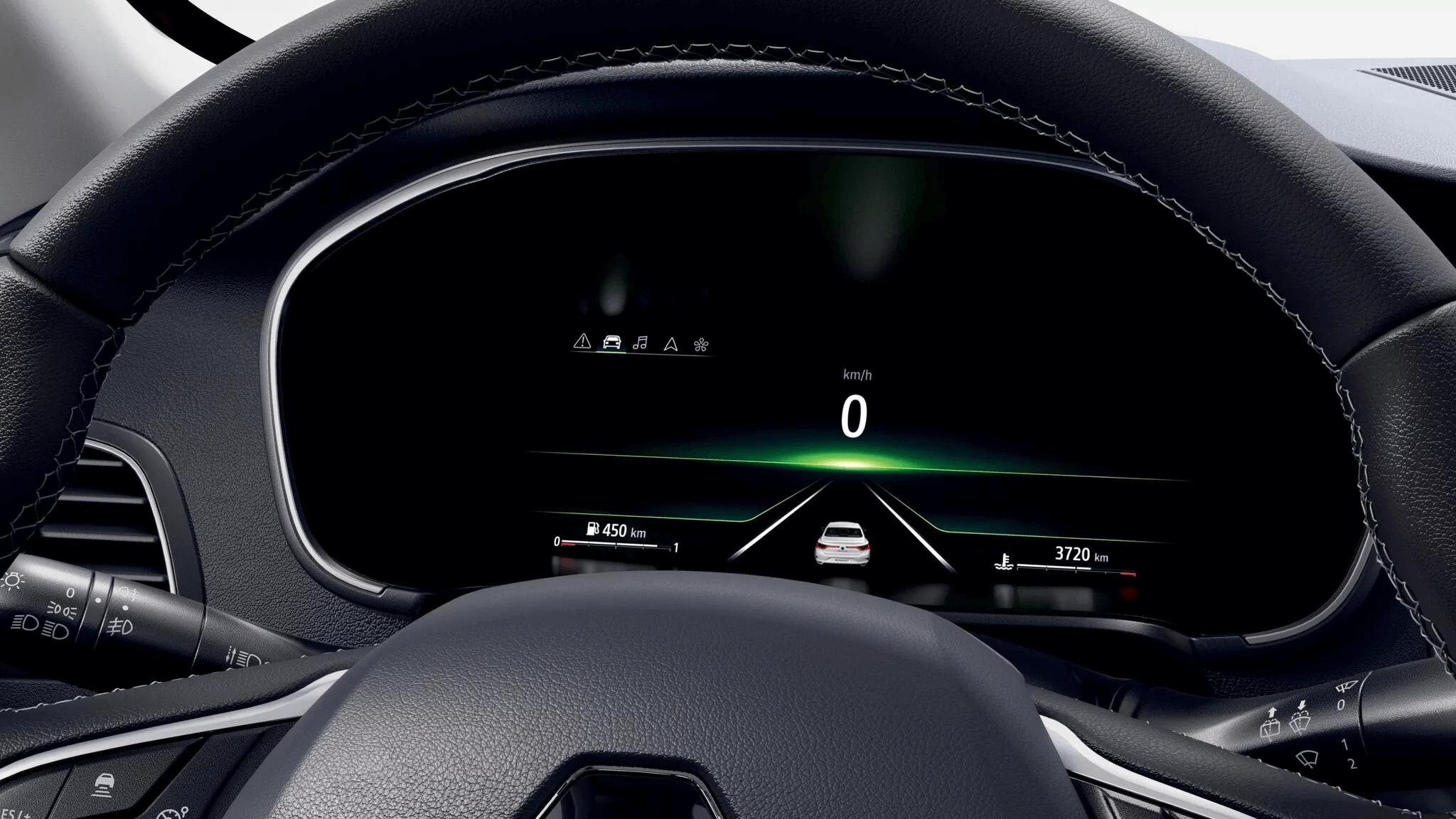 10,2-инчов екран на водача с възможност за персонализиране