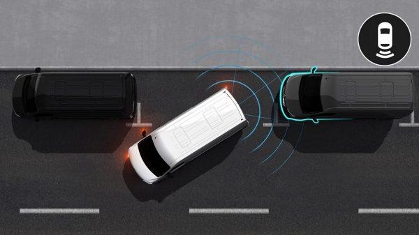 Преден и заден паркинг сензор, камера за паркиране на заден ход